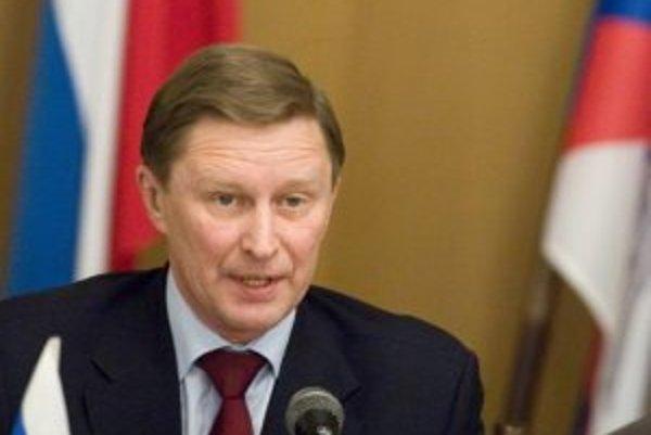Ruský minister obrany Sergej Ivanov.