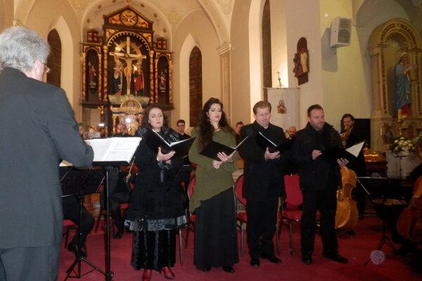 Novozámocký koncert Santa Caecilia II.