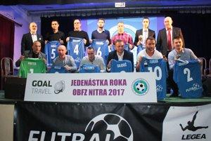 Goal Travel Jedenástka roka ObFZ Nitra za rok 2017.