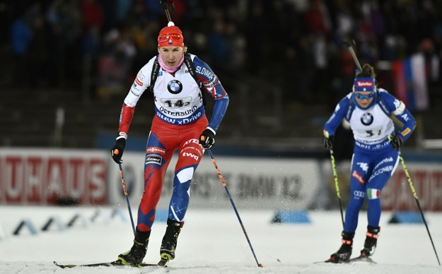 Podiel na úspechu Slovákov mala aj Anastasia Kuzminová (vľavo).