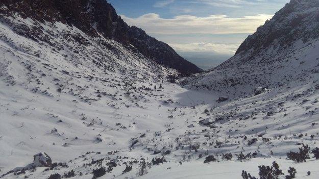Malá studená dolina.