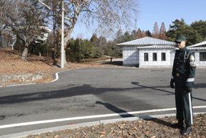 Neďaleko od tohto miesta strieľali po vojakovi zo Severnej Kórei.