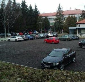 Nové parkovisko pri poliklinike