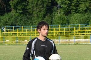 Brankár Ladislav Šalamon ešte vdrese SP MFK Rožňava.