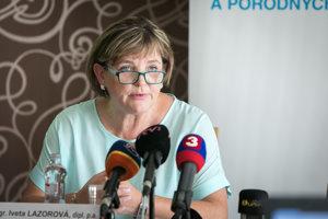 Prezidentka SKSaPA Iveta Lazorová.
