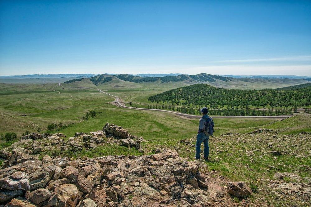 Mongolská príroda v národnom parku