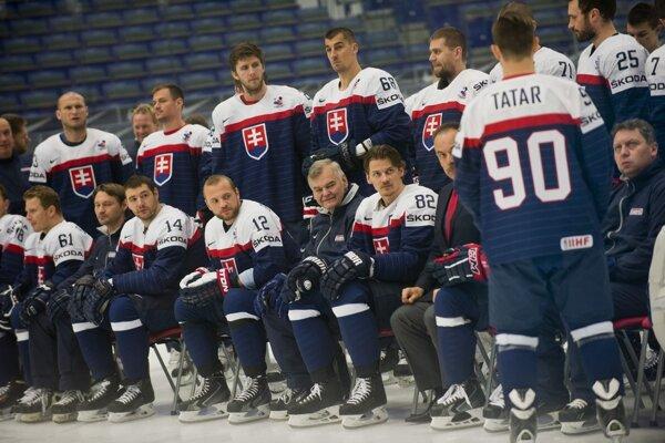 V treťom zápase na turnaji sa Slováci predstavia v modrej sade dresov. (MS v hokeji 2015)