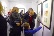 Výstava sa páči deťom i dospelým.