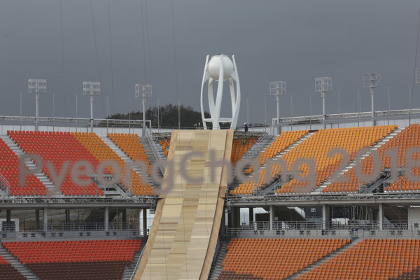 Športové zápolenie bude v Pjongčangu hostiť 13 štadiónov.