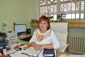 Riaditeľka Beáta Šlosárová.