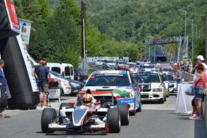 Dobšinský kopec znova hosti majstrovstvá Európy vpretekoch automobilov do vrchu.