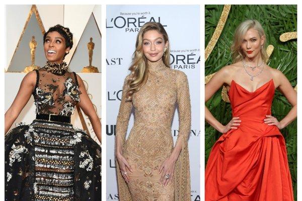 Ktoré dámy mali najzaujímavejšie róby v roku 2017?