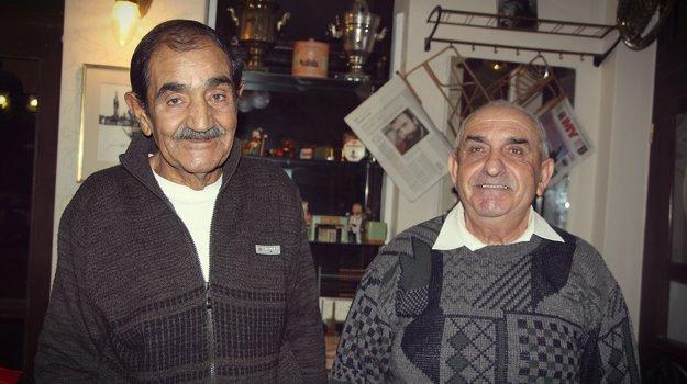 Imrich Berky (vľavo) a Pavel Klinec z Dúbrav.