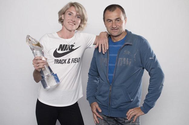 Dvadsaťročná spolupráca strénerom Pavlom Sloukom priniesla Lucii množstvo úspechov.