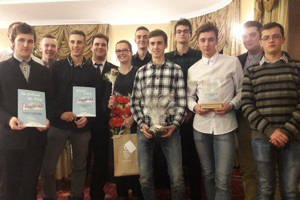 Ocenení boli aj žiaci z Kysuckého Nového Mesta.