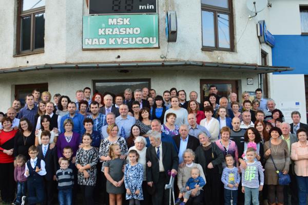 Prvé rodinné stretnutie rodiny Šustekovcov.