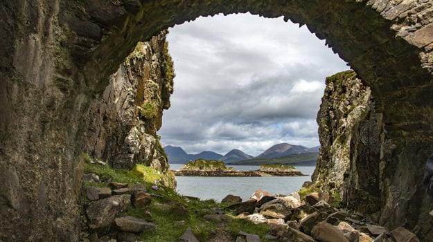 Ostrov Skye, Škótsko.