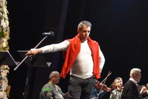 Filip Tůma. Na nedávnom koncerte v košickom Štátnom divadle.