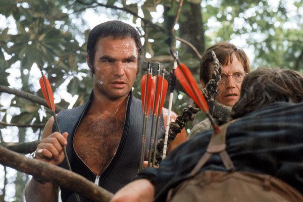 Burt Reynolds vo filmovej verzii Vyslobodenia.