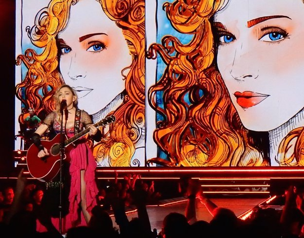Madonna. Rebel Heart Tour.