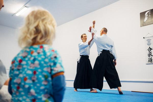 Aikido je bojové umenie pre všetkých, bez rozdielu veku či pohlavia.