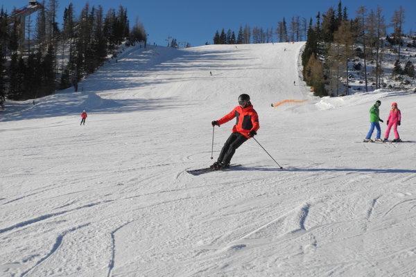 Štefanská lyžovačka na Štrbskom Plese.