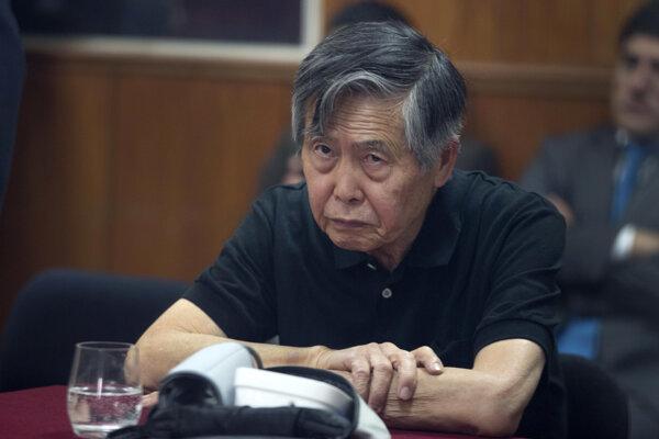 Fujimori vládol v Peru v rokoch 1990 až 2000.
