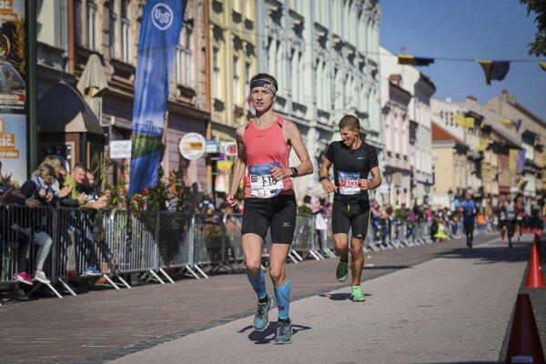 Katarína Lamiová. Najrýchlejšia maratónska východniarka.