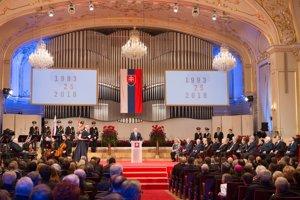 Prezident Kiska ocenil pri príležitosti 25. výročia vzniku Slovenskej republiky 25 osobností.