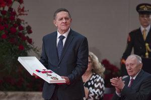 Vydavateľ László Szigeti si prebral štátne vyznamenanie Rad Ľudovíta Štúra II. triedy.