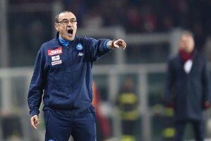 Tréner SSC Neapol Maurizio Sarri.