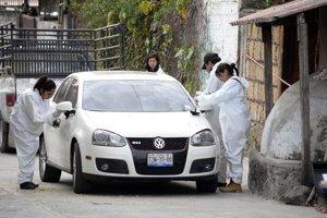 Auto mexickej starostky Gisely Motovovej, ktorú pred dvoma rokmi zavraždil kartel len deň po nástupe do úradu.
