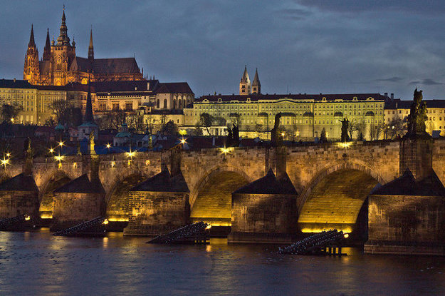 Praha. Karlův most.