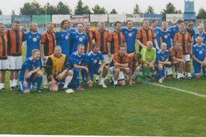 V septembri si Košice pripomenuli prvý futbalový titul v zápase bývalých hráčov 1. FC Košice a Lokomotívy Košice.