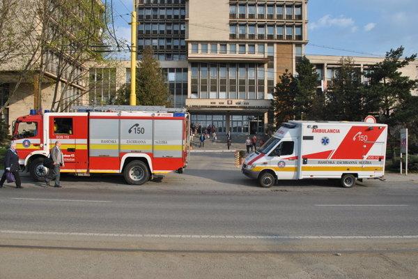 Budova košických súdov. Vlani ju evakuovali až 21-krát.