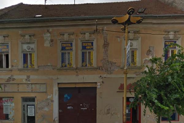 Dom na Štefánikovej 4 pred rekonštrukciou.