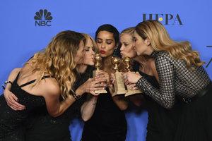 Nicole Kidmanová, Zoë Kravitzová, Reese Witherspoonová,Laura Dernová a Shailene Woodleyová zo snímky Veľké malé klamstvá.