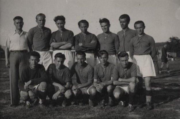 Futbalisti ŠK Prievidza v roku 1947.