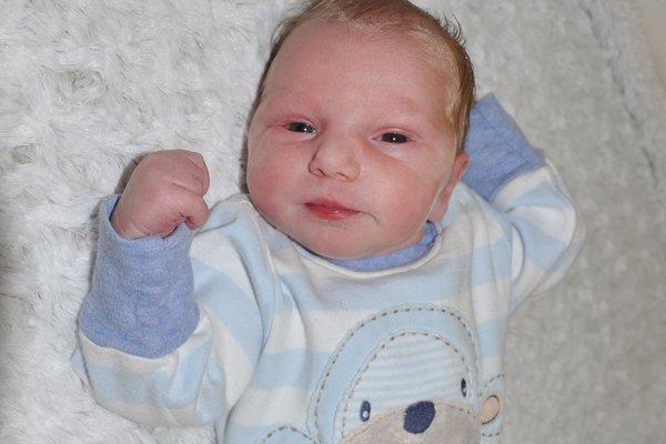 Filipko bol prvým miminkom roka 2018 v žiarskej pôrodnici.