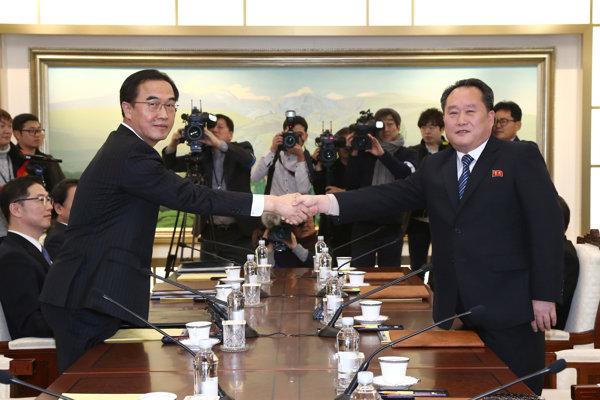 KĽDR vyšle na februárové zimné olympijské hry v Pjongčangu delegáciu na vysokej úrovni.