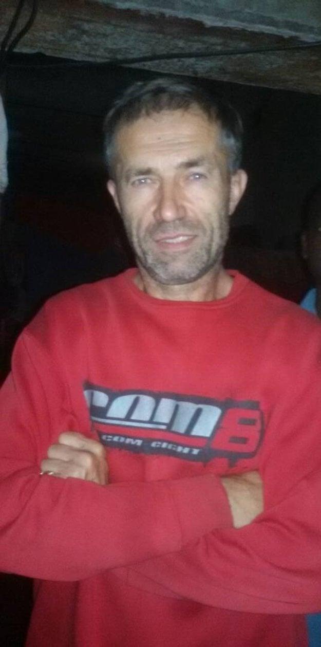Ľuboš Kosík na fotke z Mali.