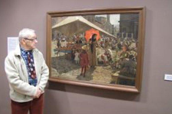 Osudy slávneho obrazu pozná Jozef Ďuriančik do detailov,stále je však po čom pátrať