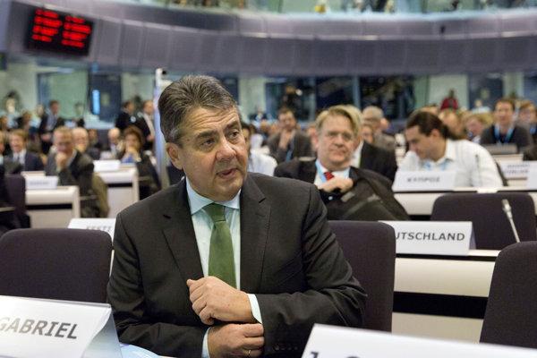 Sigmar Gabriel, nemecký minister zahraničných vecí.