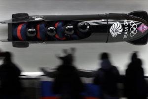 Bruce Tasker bol členom britských štvorbobov na olympiáde v Soči 2014