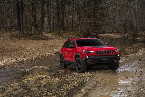 Do Detroitu prinesie koncern Fiat Chrysler aj nový Jeep Cherokee.
