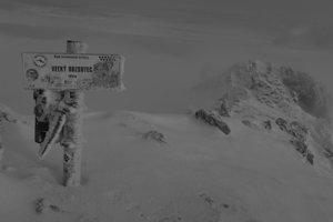 Vrcholové foto, Veľký Rozsutec, 1610 metrov nad morom.
