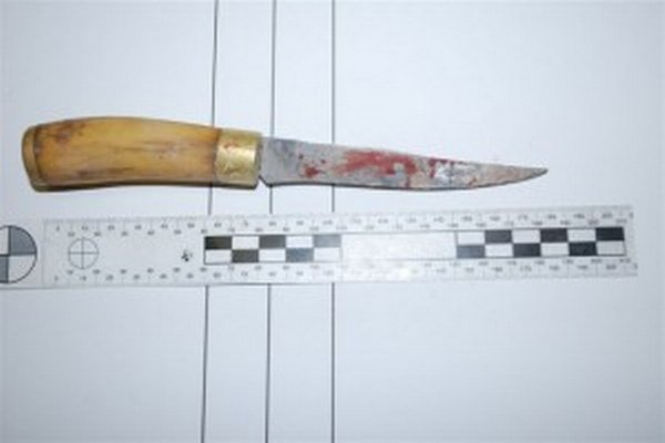 Rana týmto nožom zabíjala.