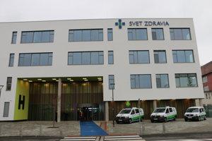 Nová nemocnica vMichalovciach.