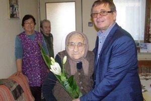 Margita Juhászová oslávila 93. narodeniny.