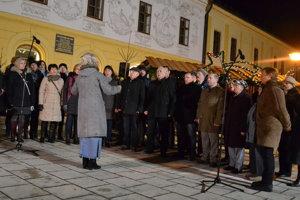 Slovensko spieva koledy 2017. V Spišskej Novej Vsi spieval Chorus Iglovia.
